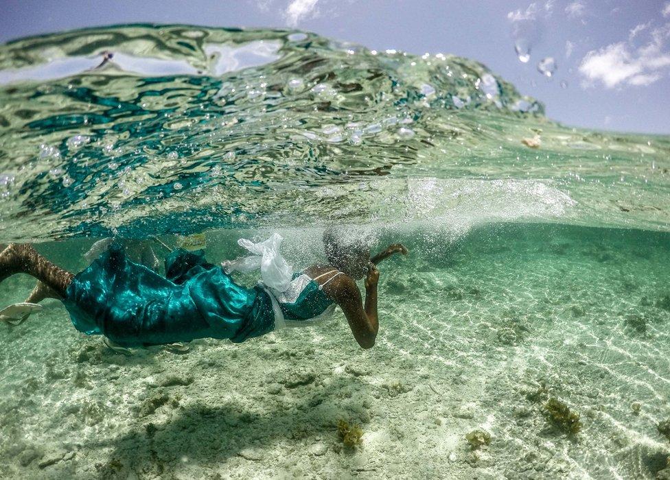 Mariam, an octopus hunter