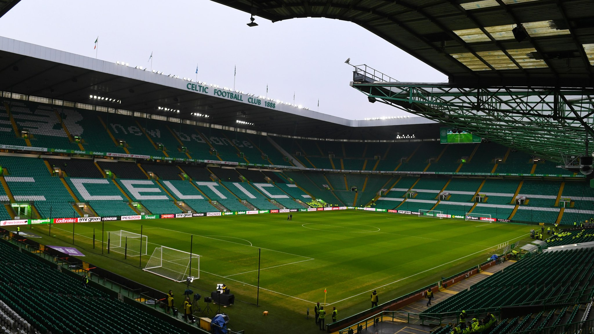 Brendan Rodgers: Celtic Park's new hybrid pitch 'slightly diseased'
