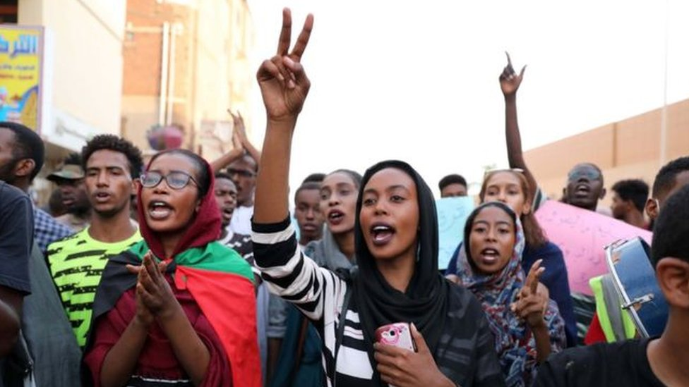 احتجاجات السودان