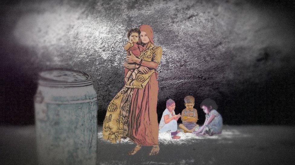 žena i deca