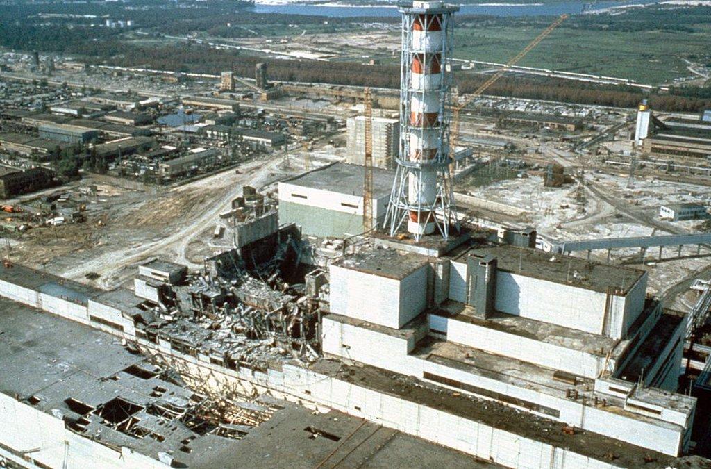 La estación nuclear de Chernóbil