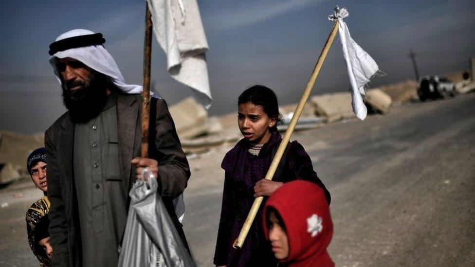 सीरिया से लोगों का पलायन