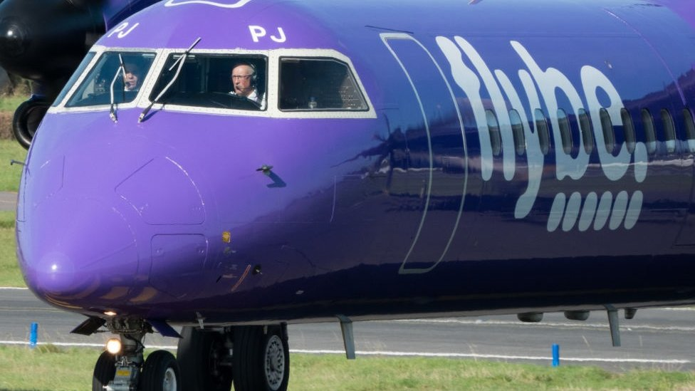 Flybe rescued by Virgin and Stobart
