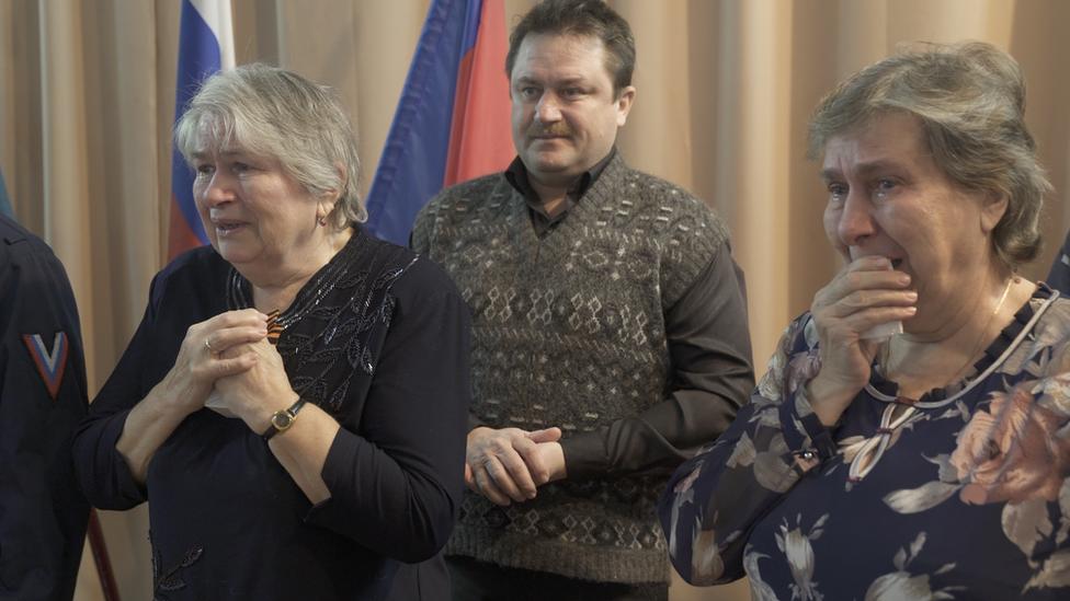 Las dos hijas de Alexander Smirnov, Galina y Zoya