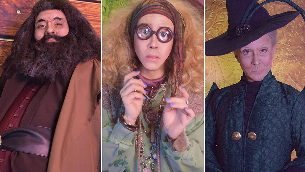 Harry Potter How One Drag Queen Became 31 Jk Rowling Characters Bbc News
