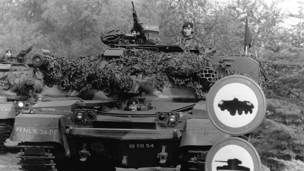 Ejercicios militares de la OTAN.