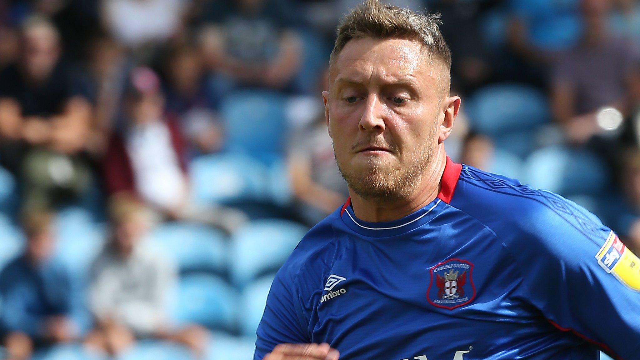 Richie Bennett: Carlisle United striker joins Morecambe on loan for rest of the season