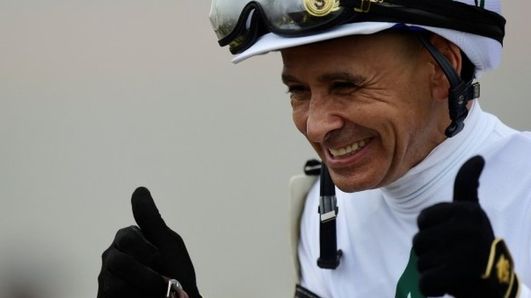 Justify one win away from Triple Crown