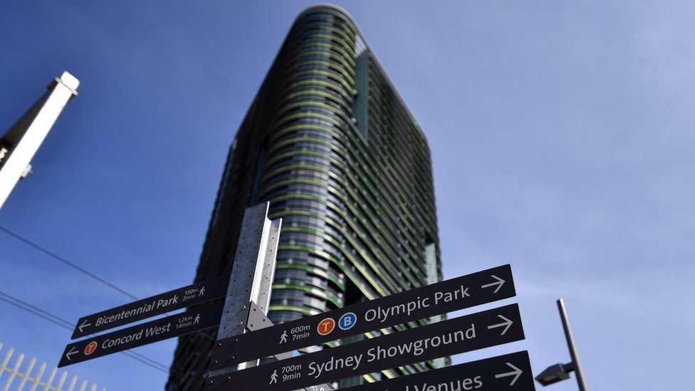 The Opal Tower in Sydney