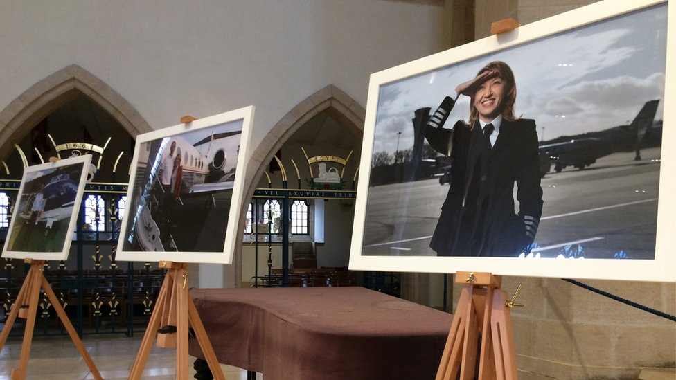 Leicester City helicopter crash: Memorial service for pilots
