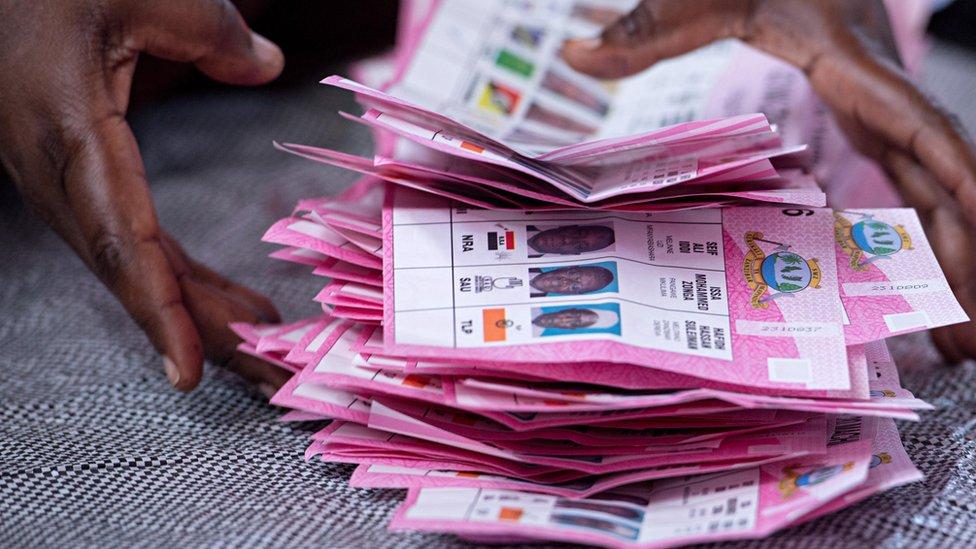 Vote counting in Zanzibar, Tanzania - March 2016