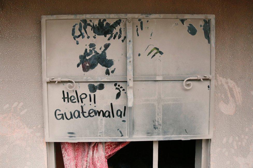 تواصل جهود الإنقاذ فورة بركان فويغو بغواتيمالا