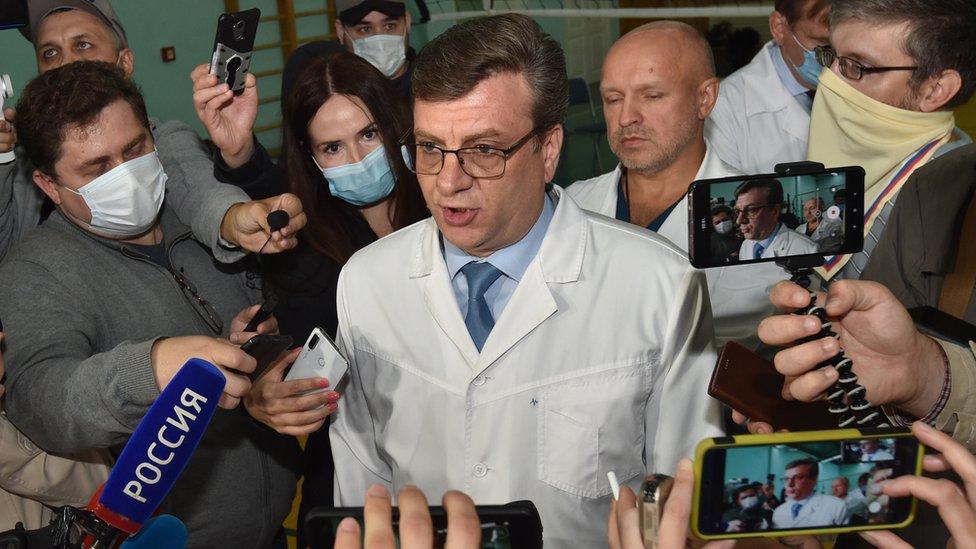 Глава минздрава Омской области пропал в лесу. Он был главврачом больницы, где лечили Навального