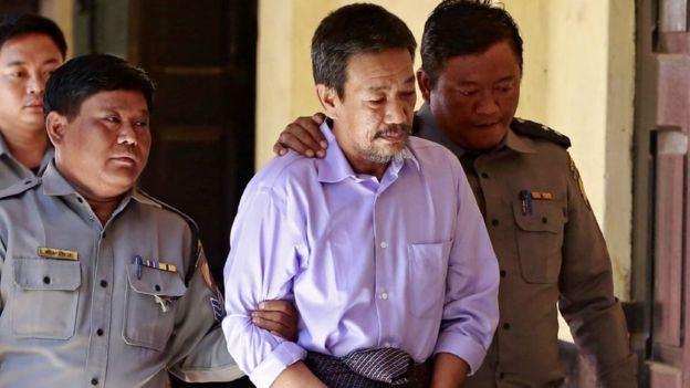 Kyi Lin dihukum mati.