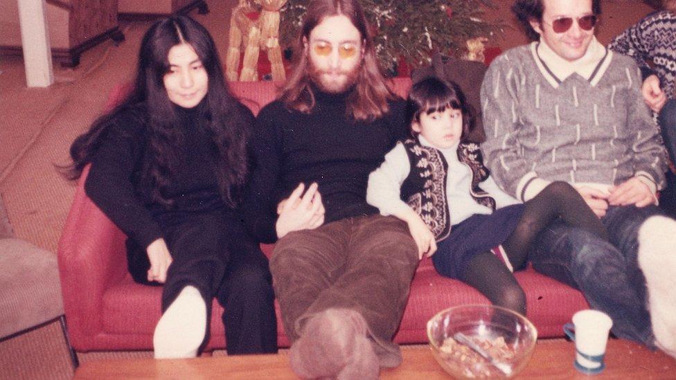 John Lennon, Yoko Ono ve kızı