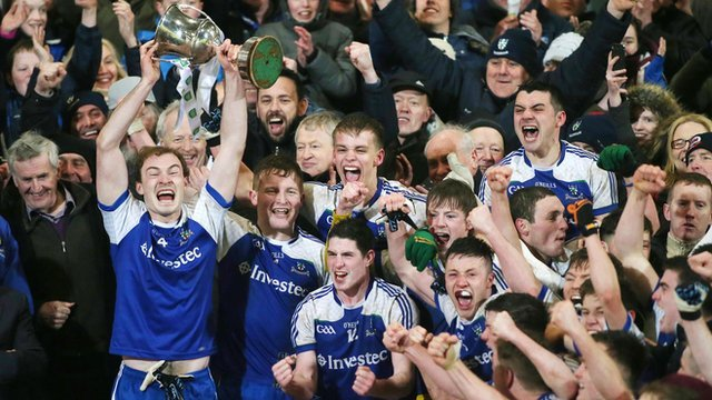 Monaghan were crowned Ulster Under-21 champions for the first time since 1999