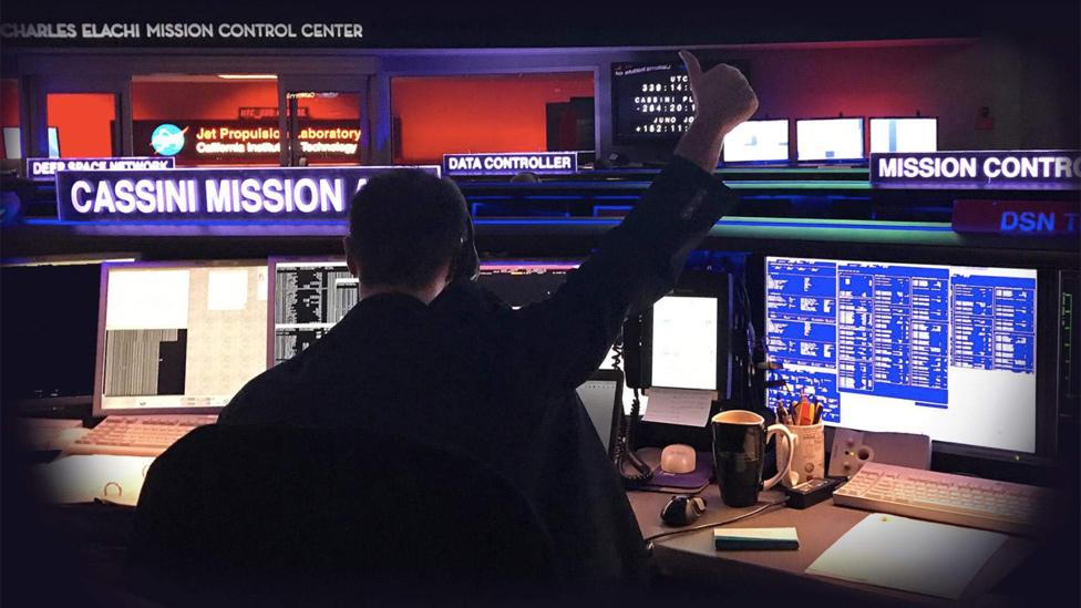Cassini mission control