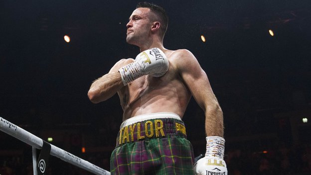 Scot Taylor secures first world title with points win over Baranchyk