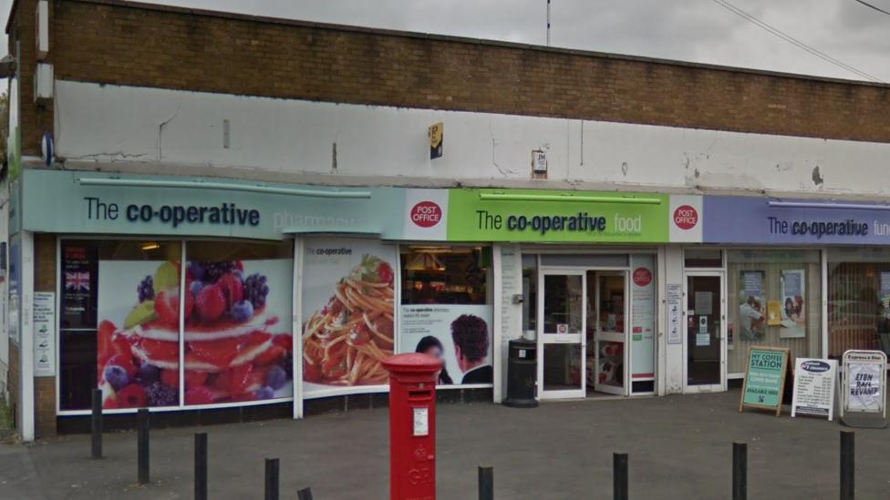 Man with axe raids Co-op supermarket in Wolverhampton