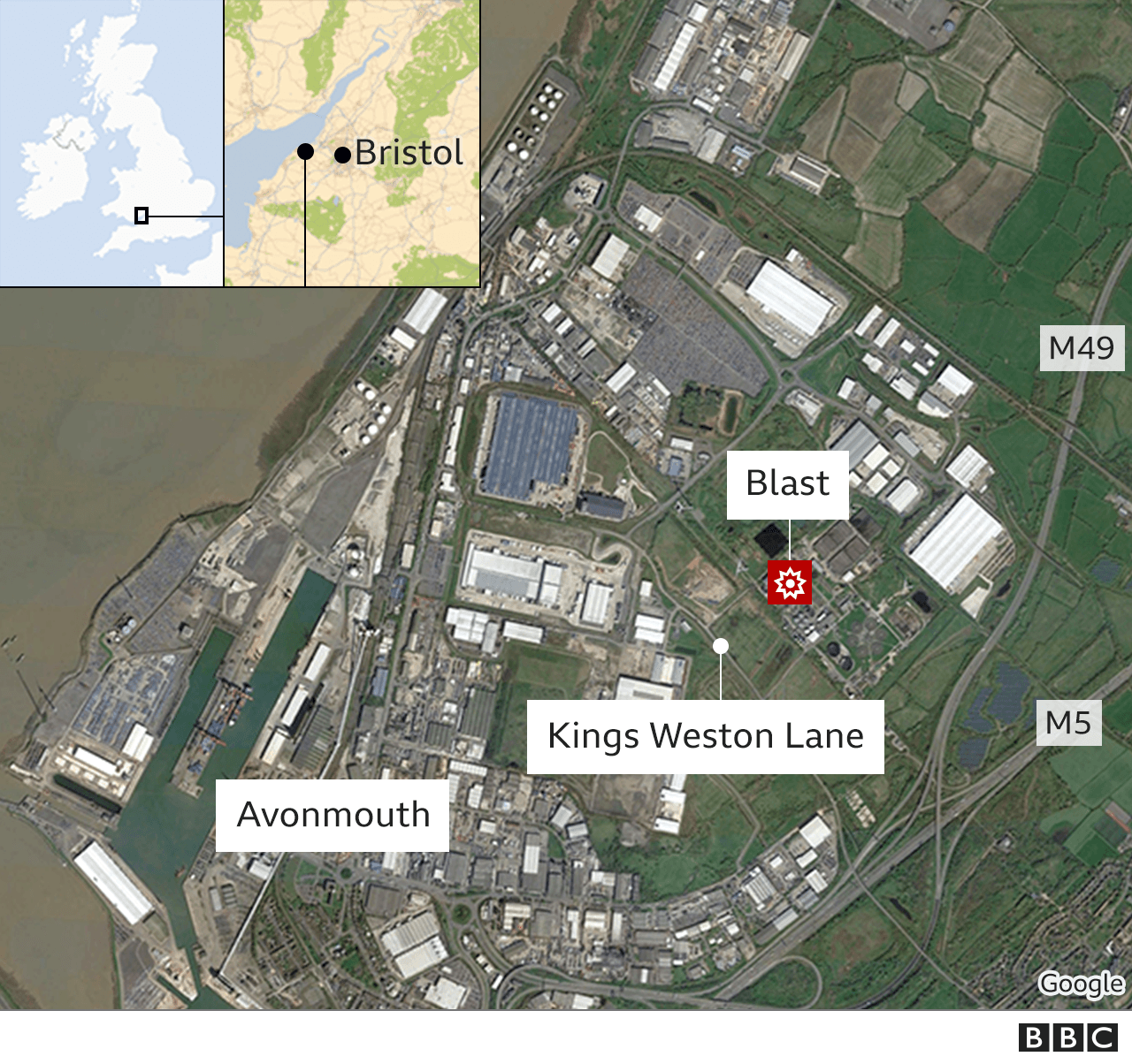 Avonmouth explosion: Four dead in Bristol water works blast thumbnail