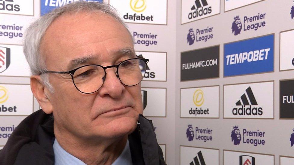 Fulham 1-2 Tottenham: Lack of experience cost us - Claudio Ranieri