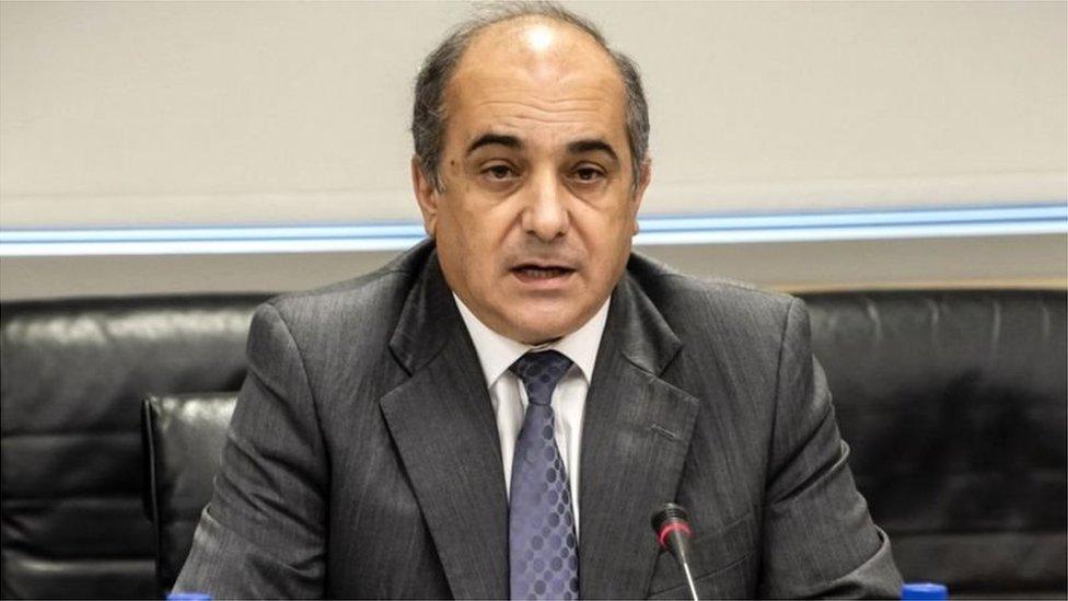 رئيس البرلمان ديميتريس سيلوريس