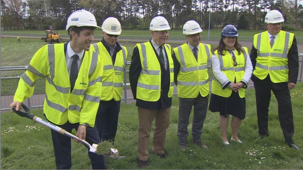 Work on Dundee's £32m sports hub begins at Caird Park