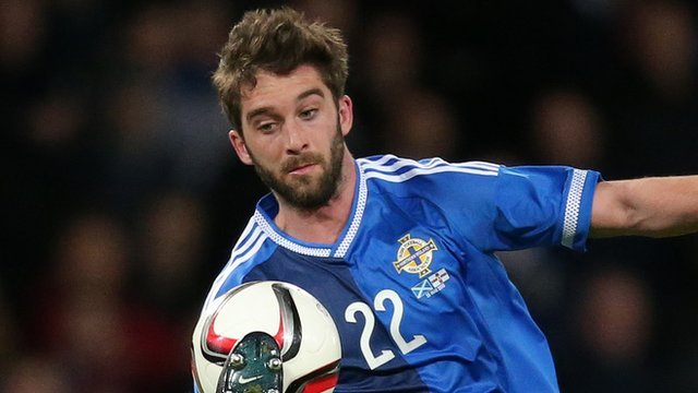 Northern Ireland players sing 'Will Grigg's on fire'