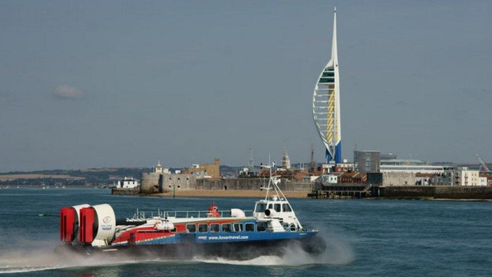 Portsmouth Harbour in September 2015