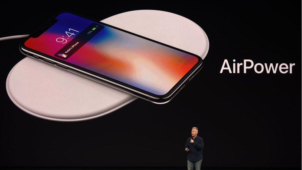 Presentación de AirPower de Apple.