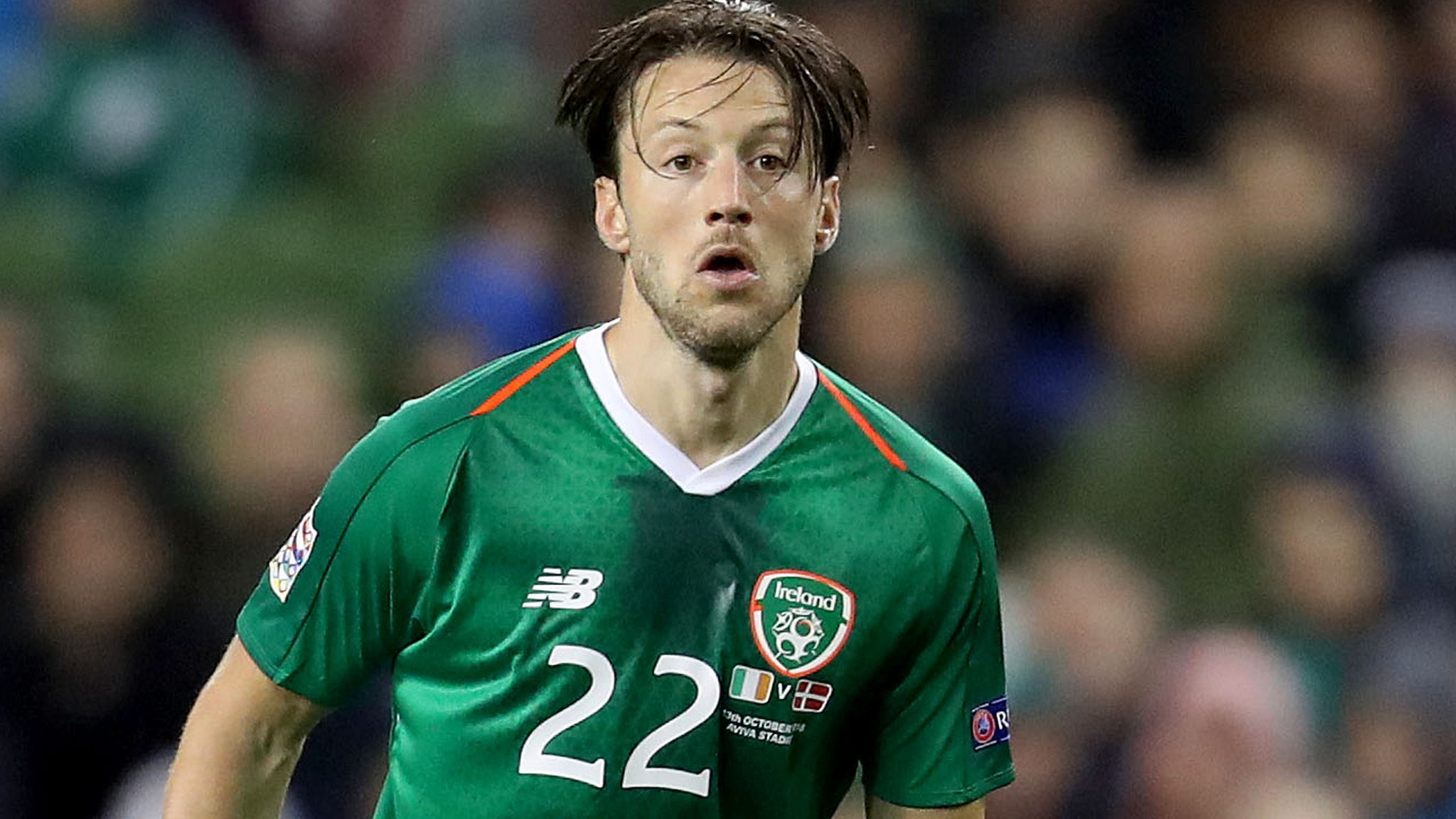 Republic midfielder Arter 'never needed' Keane apology