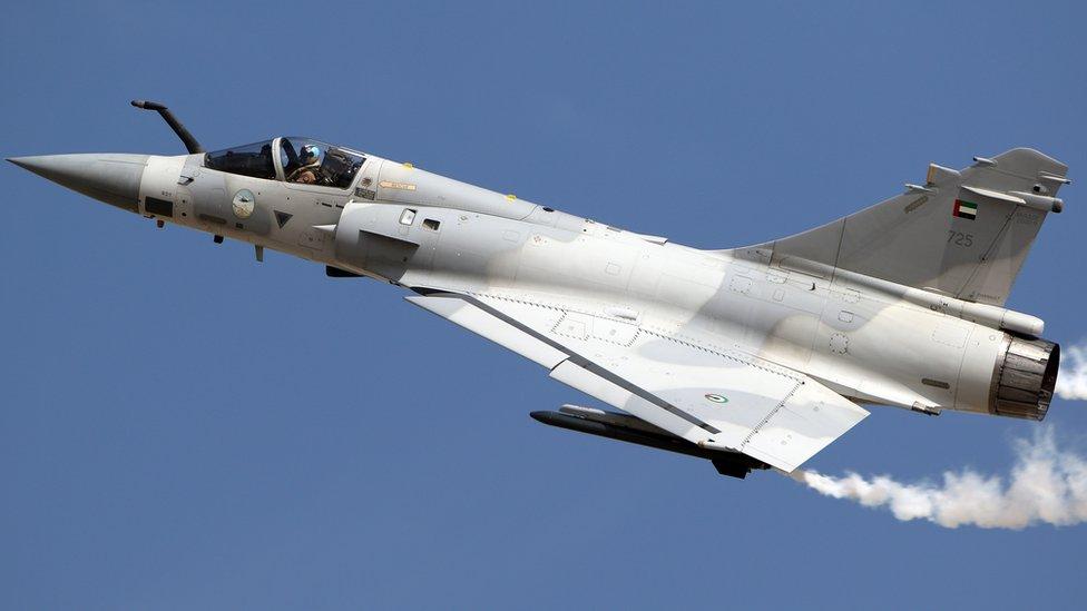 Mirage 2000-9 tipi savaş uçağı