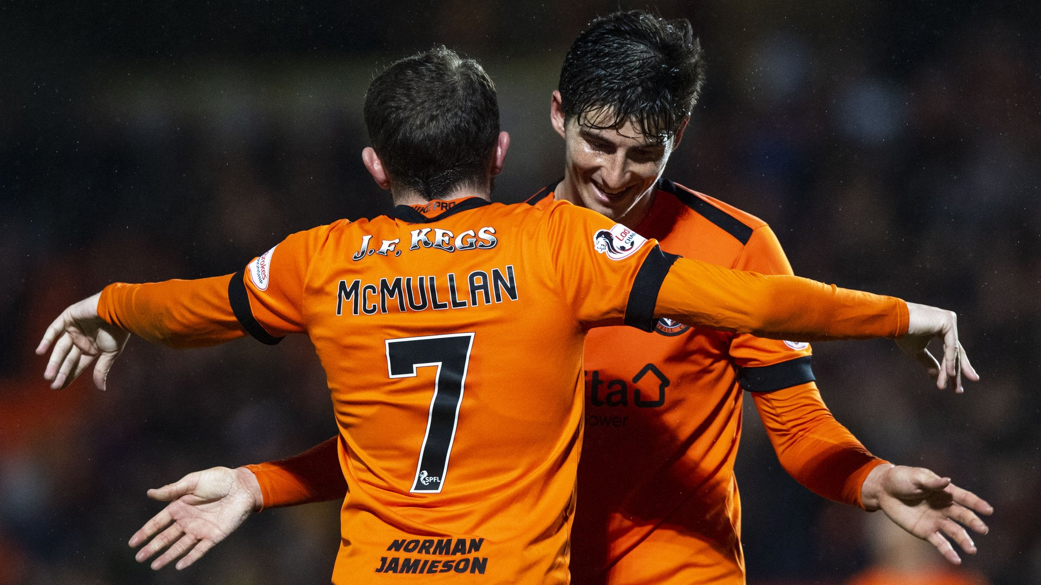 Dundee Utd will be underdogs in play-off final - Neilson