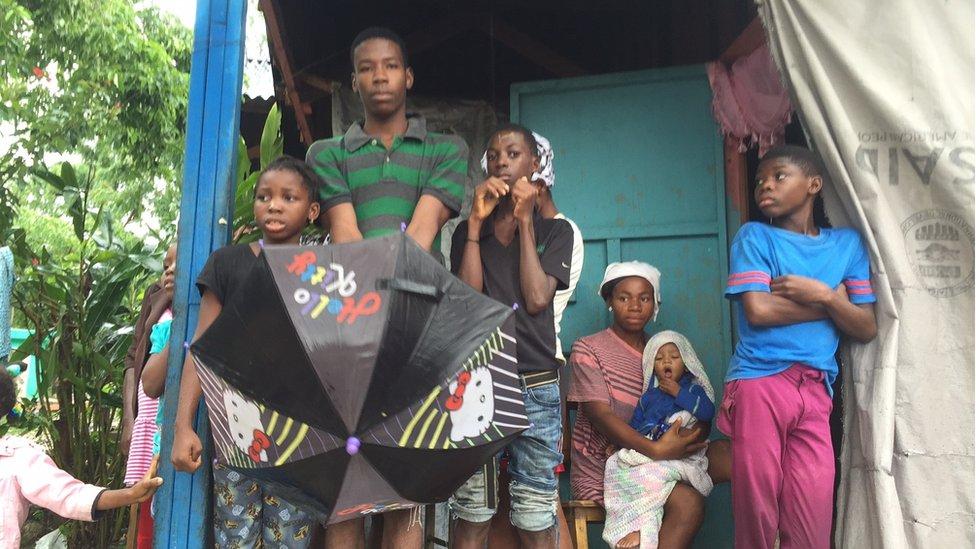 Displaced Haitians