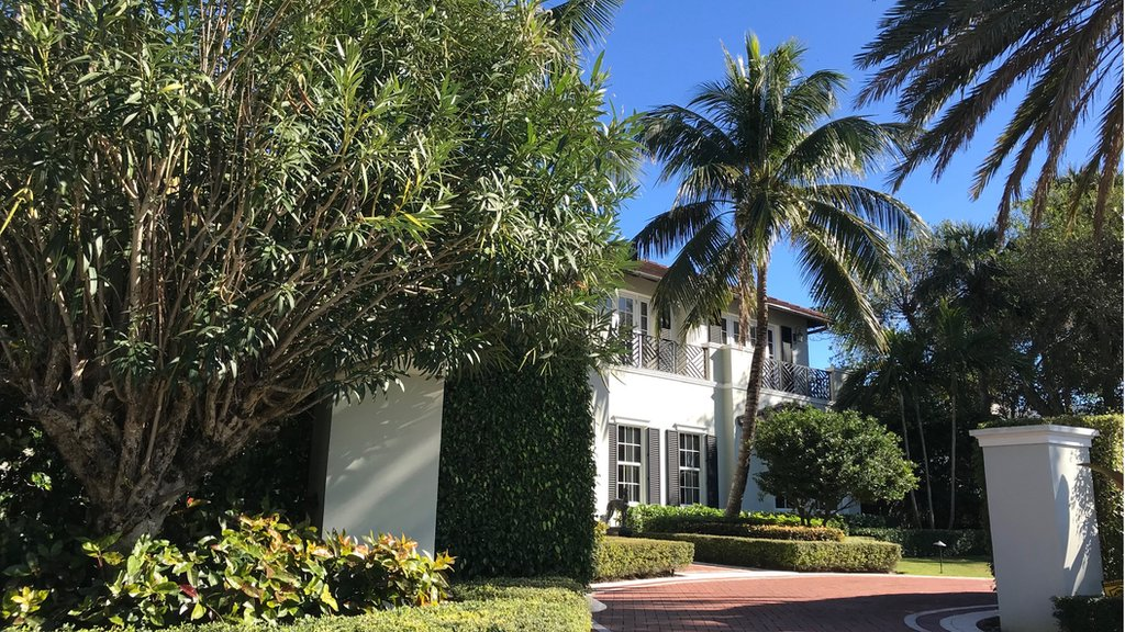 Una casa en Palm Beach, Florida
