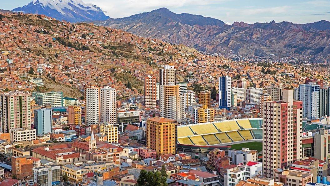 Hernando Siles en La Paz.