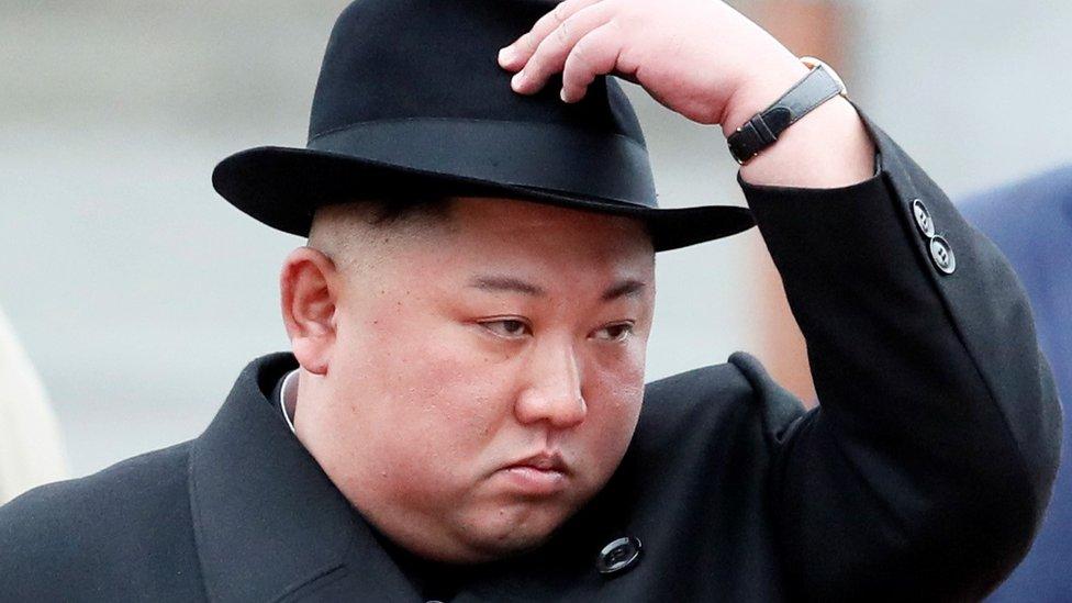 Kim Jong-un in Russia for Vladimir Putin summit