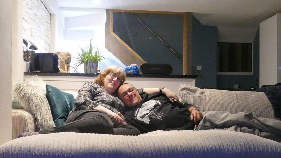 Laura and Rik Hawcroft