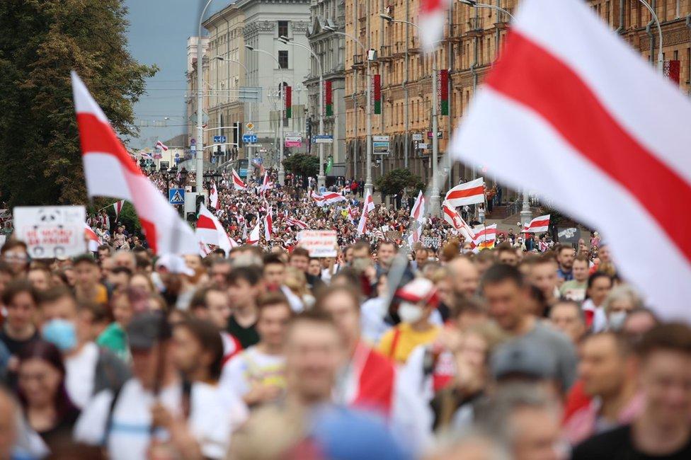 NAKON ŠTO SU UHAPSILI 12.000 LJUDI! Bjelorusija na skupštini UN-a optužila zapadne zemlje za sijanje haosa i anarhije