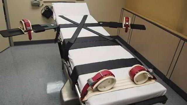 Sala de ejecución del Departamento de Correcciones de Oklahoma
