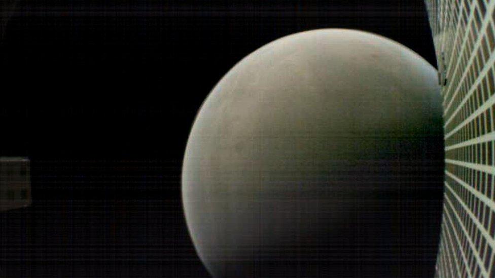MarCO image of Mars