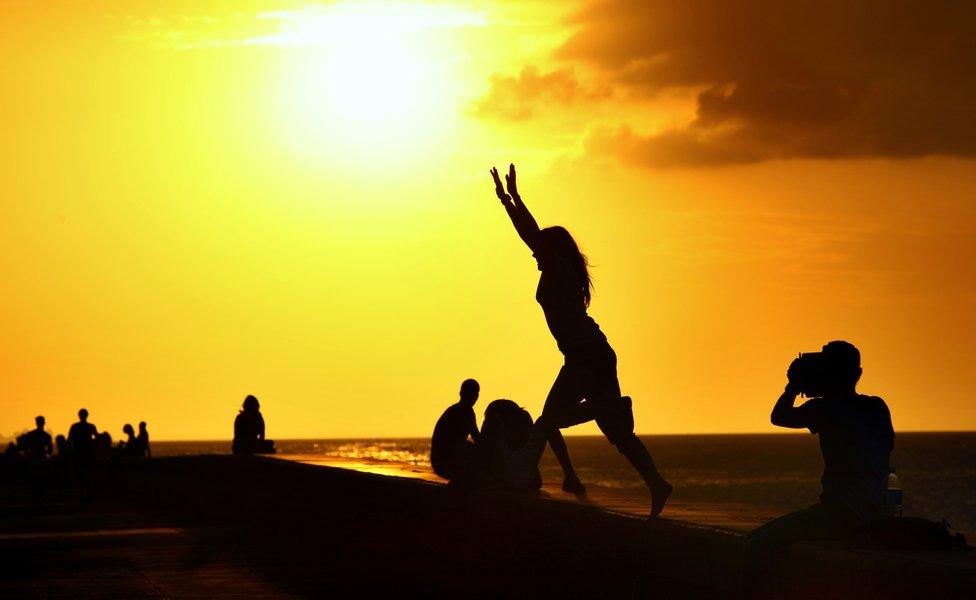 馬雷貢最著名的日落