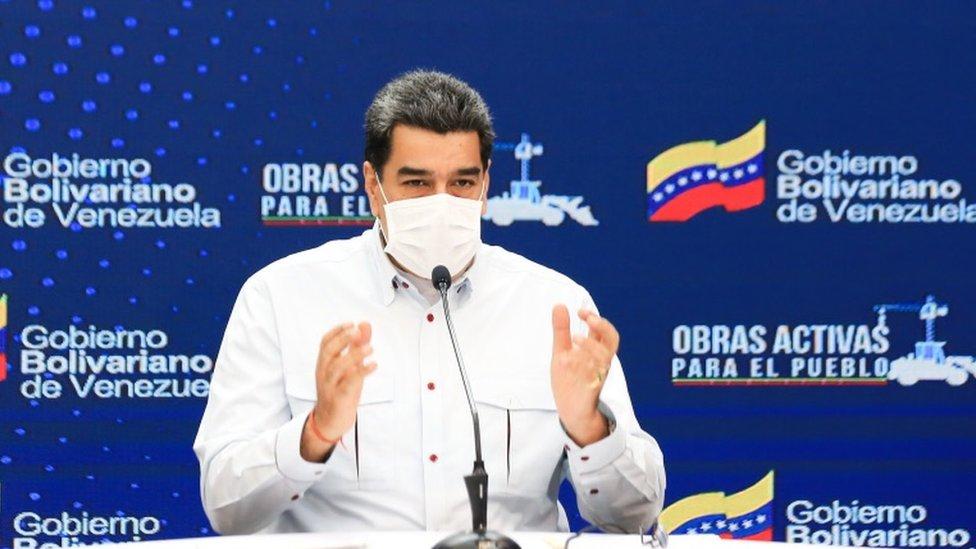 """Maduro afirma que Venezuela """"le está ganando la batalla al coronavirus"""""""