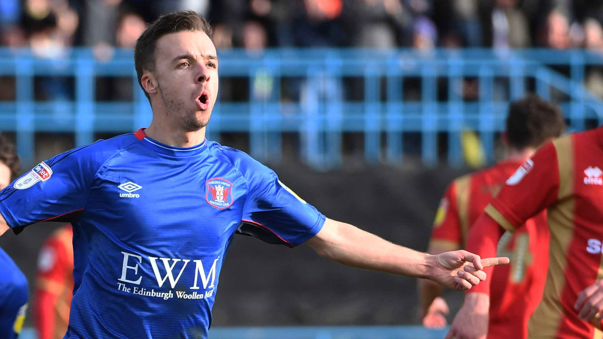 Stefan Scougall: Carlisle United midfielder signs new one-year deal