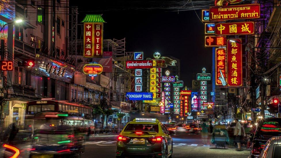 Luces de Bangkok
