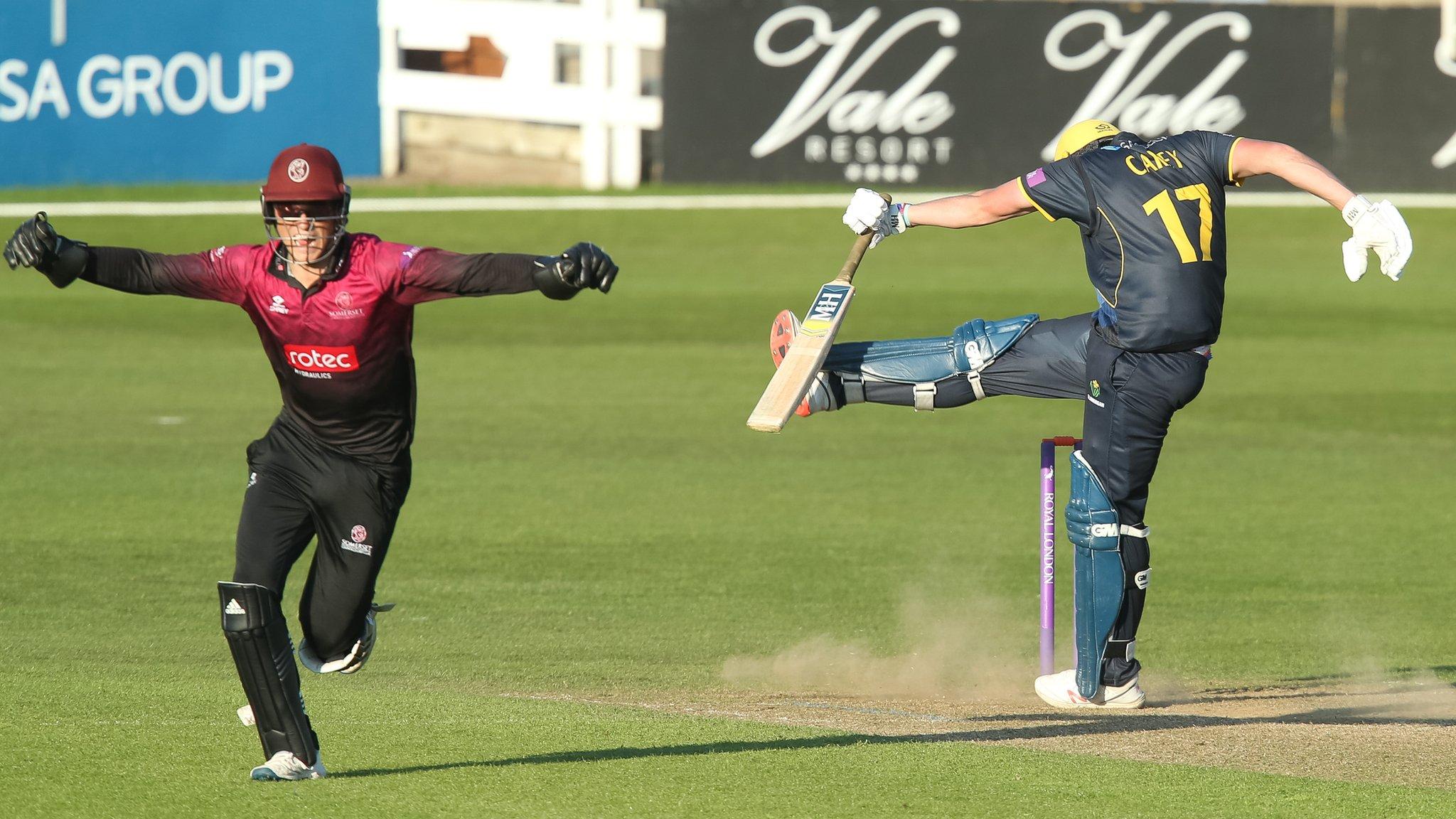 Somerset snatch win over Glamorgan