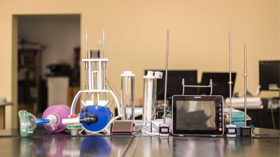 Prototip 3D respiratora