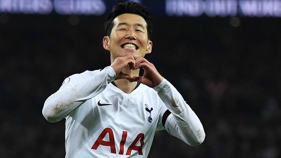 سون هيونغ مين سجل هدف مميز لفريقه توتنهام