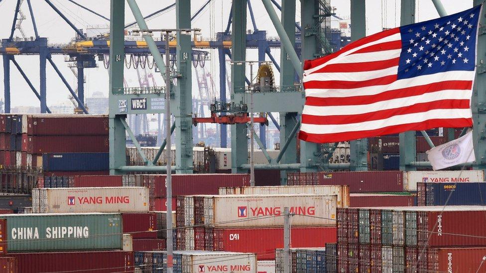 الولايات المتحدة هي أكبر سوق مستورد البضائع الصينية