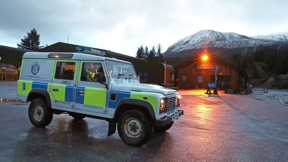 Ben Nevis rescue operation